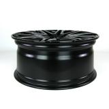 Twin-Monotube 8,5x20 Zoll ET45 leicht konkav glanz-schwarz