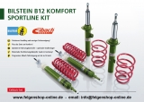 Eibach B12 Komfort Sportfahrwerk VA bis 960kg / Mehrlenker HA (VW Golf7, Leon 5F, Oktavia 5E, A3 8V, etc.)