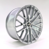TWIN-MONOTUBE-PROJEKT-20.2 Felge 9x20 Zoll in Magnesium-silber, deep concave