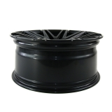 Twin-Monotube Felge 9x20 ET39 deep concave schwarz seidenmatt