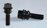 20x Twin-Monotube-Projekt Radschraube schwarz VW T5, T6, Amarok